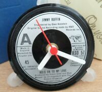 *new* JIMMY RUFFIN ( Motown Legend ) CLOCK An actual vinyl record
