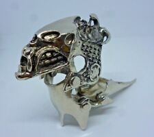 Gothic Full Finger Ring Jointed Knuckle ring costume Dress jewlery