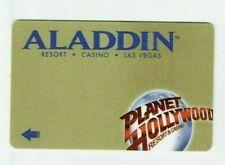 Aladdin Las Vegas Room KEY Casino Hotel - Planet Hollywood Coming Soon - Gold