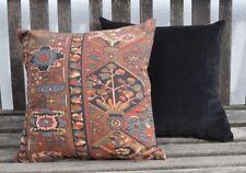 New 16inch cushion vintage Liberty 'Haibak' black multi and black velvet