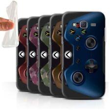 Étuis, housses et coques bleus Samsung Galaxy J en silicone, caoutchouc, gel pour téléphone mobile et assistant personnel (PDA)
