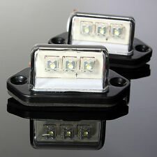 2x 12/24V LED LICENSE PLATE TAG LIGHT BOAT RV TRUCK TRAILER INTERIOR STEP  /