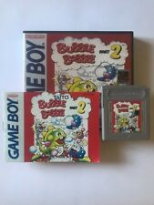 """Gameboy Bubble Bobble 2 With Manual And Collector Case """"Rare"""""""