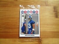 2008 Topps New York Giants ROOKIE Factory Sealed Bonus Pack