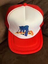 PIZZA 🍕 Night Baseball Cap Hat Brooklyn Cyclones SGA Snap Back Brooklyn Bridge