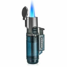 HONEST 3 Torch Blue Flame Butane Gas Lighter Windproof Cigar Antiq Cigarett Q3A4