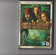 PIRATES OF THE CARIBBEAN DEAD MAN'S CHEST DVD 2 DISC SPECIAL EDITION