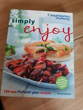 Weight watchers 'SIMPLY ENJOY' Pro Points Recipe Book..Pre Owned