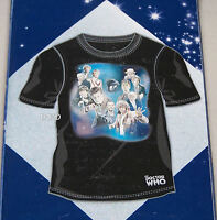 Doctor Who Mens Group + Tardis Black Printed Short Sleeve T Shirt Size M New
