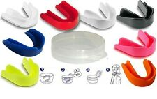 Senior Adults & Juniors Gum Shields Mouth Guards Protect for Boxing,Rugby,Hockey