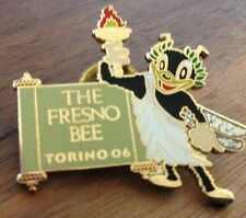 The Fresno Bee Torino 2006 Olympic Media Pin