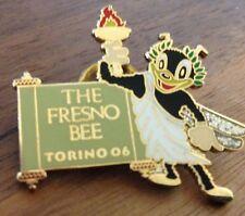 The Fresno Bee Torino 2006 Olympic Media Pin