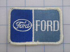 Vintage  FORD  patch  car  auto  racing   van  trucker   double Ford