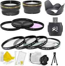 58mm NECESSITY PACKAGE VALUE KIT for CANON EOS 10D, 20D, 30D, 40D, 50D Cameras