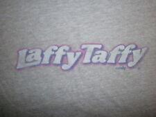 LAFFY TAFFY T SHIRT Retro Willy Wonka Candy Nestle Womens Girls JUNIORS XL