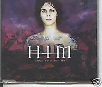 him - gone with sin cd single