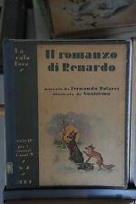 1940 - LA SCALA D'ORO - IL ROMANZO DI RENARDO - ILLUSTR. GUSTAVINO 2° EDIZIONE