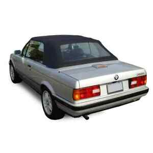 Convertible Top for BMW 3 Series (E30) 1987-1993, Tinted Plastic Window