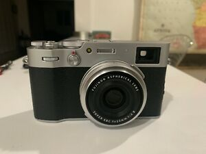 Fuji x100v Silver Excellent Condition With Lenses and Accessories!