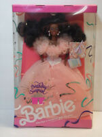 VINTAGE 1991 NEW ORIGINAL BOX RARE BLACK BIRTHDAY SURPRISE BARBIE DOLL #4051 NIB