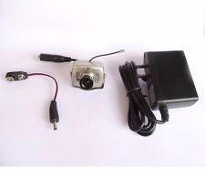2.4G wireless night vision lens CCTV audio IR mini  SPY CAMERA+power+free ship