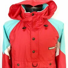 DESCENTE Japan Men THERMAL THIN SKI Windbreaker JACKET ANORAK ZIP Hooded L 23""