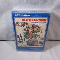 Complete In Box Intellivision Auto Racing in Protector TESTED & GUARANTEED!