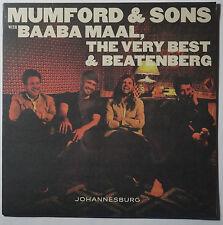 "Mumford & Sons w Baaba Maal - Johannesburg 10"" Single NEU/SEALED vinyl"