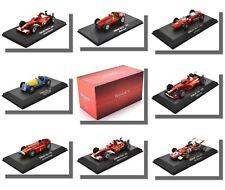 F1 Cars, Ferrari, 1/43 Scale, Atlas Editions.