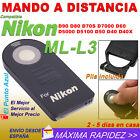 Mando Distancia Compatible NIKON ML-L3 ★D7500 D5100 D90 D3400 F65 F55 P6000 P900