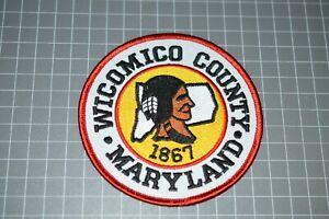 Wicomico County Maryland Police Patch (B17-A6)