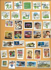 2011 USED STAMPS ON PAPER