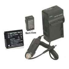 CGAS005E1B Battery + Charger for Panasonic DMC-LX2K DMC-LX2S DMC-FX10A
