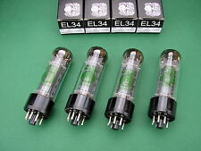 4 x EL34 EH Electro Harmonix matched Quad -> tube amp