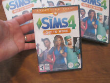 The Sims 4: Get to Work PC Windows/Mac: Mac and Windows Expansion Pack  NEW