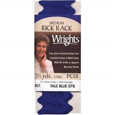 """Wrights Medium Rickrack .5""""x2.5yd-yale"""