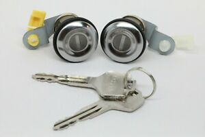 NEW Door Lock Set with Key (Driver and Passenger) for Various Nissan Models