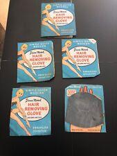 Vintage Diana Marsh Hair Removal Gloves Original Packaging Display Advertising