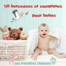CD 50 Berceuses et Comptines pour Bébé - Ses premières chansons