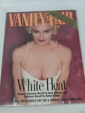 April 1990 Vanity Fair Magazine Madonna. B25