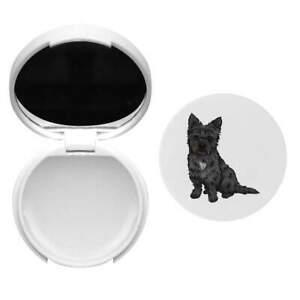 'Cairn Terrier' Baume à lèvres avec miroir (BM00017143)