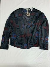 NWT Hazel Ladies Black Jacket Long Sleeve Casual Party Work Attire Size Small