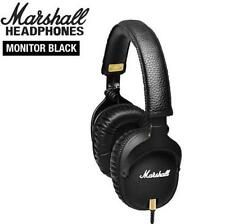 2017 Original Marshall MONITOR Over-Ear Headphones w/ Microphone Black headset