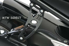 Yamaha FZ1-N All Years R&G RACING BLACK EXHAUST HANGER BRACKET