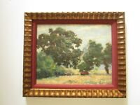 ANTIQUE AMERICAN PAINTING DEDRICK STUBER CALIFORNIA IMPRESSIONISM THOUSAND OAKS
