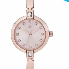 Spirit Ladies' Rose Gold Colour Stone Set Watch Stone Set Bangle/ Bracelet Style