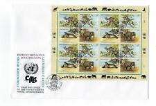 1996 Un United Nations Vienna Sc # 196-199 Quality First Day Cover (Cn97)