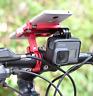 Universal Bike Handlebar Holder Mount Metal Phone Holder Stand For 3.5-6.2inch