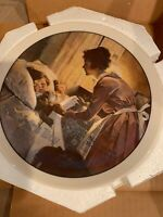 Porcelain plate, A mothers love collectible china