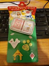 collectible target gift card puppy playing cards? zero? $ on card 2007